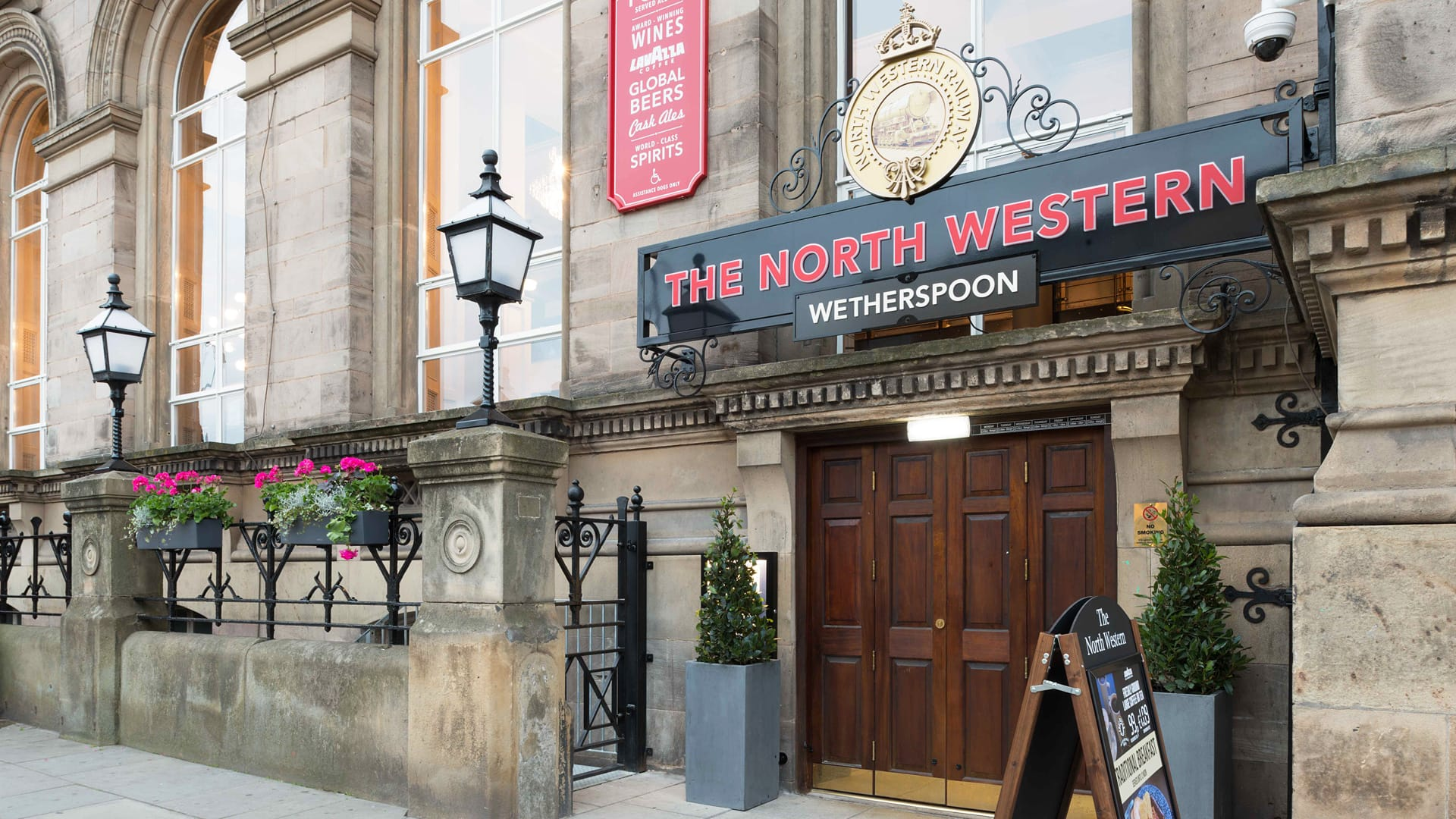 J D Wetherspoon The North Western P/H, Liverpool