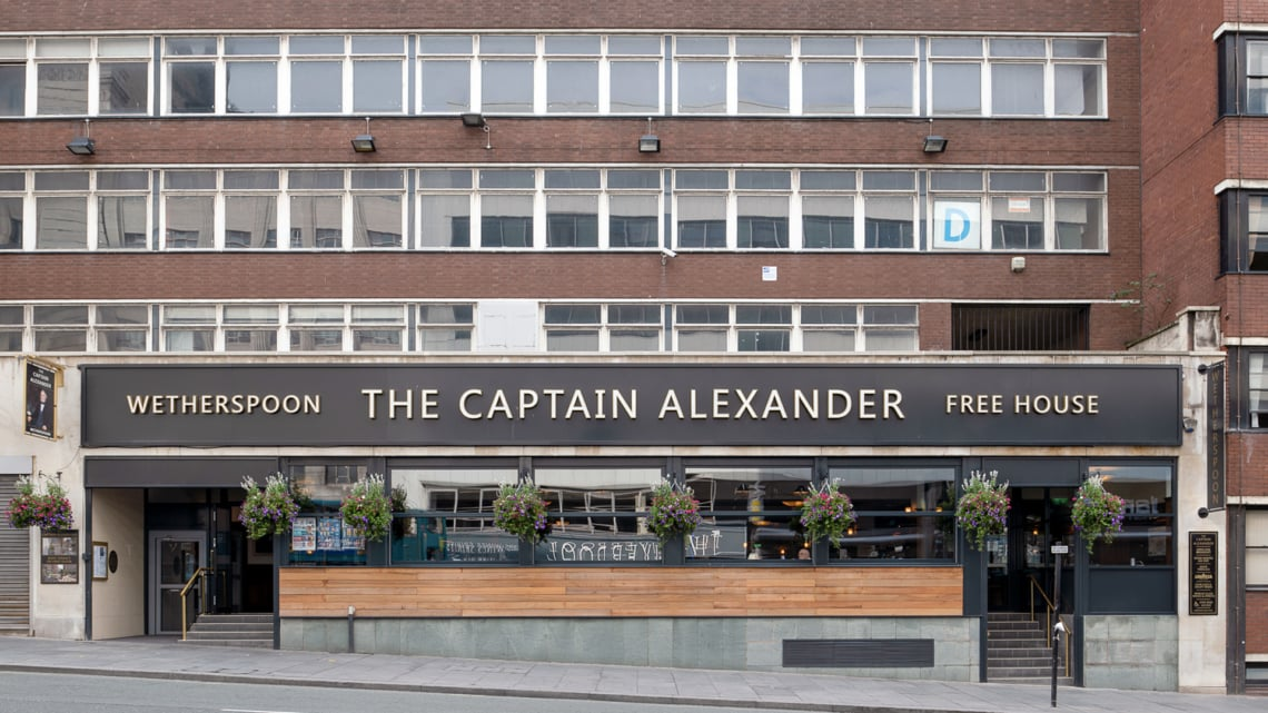 J D Wetherspoon The Captain Alexander P/H, Liverpool